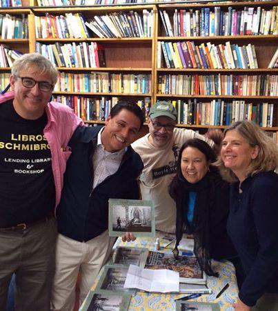 Hotel Mariachi book signing at Libros Schmibros 11-24-2013